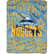 Northwest Denver Nuggets Redux Micro Raschel Throw Blanket