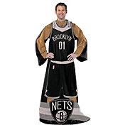Northwest Brooklyn Nets Uniform Full Body Comfy Throw