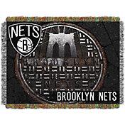 Northwest Brooklyn Nets Sewer Cap Throw Blanket