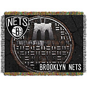 Northwest Brooklyn Nets Sewer Cap Throw Blanket