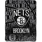 Northwest Brooklyn Nets Redux Micro Raschel Throw Blanket