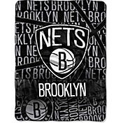 Northwest Brooklyn Nets Redux Micro Raschel Throw Blanket