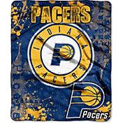Northwest Indiana Pacers Dropdown Raschel Throw Blanket