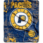 Northwest Indiana Pacers Dropdown Raschel Throw Blanket