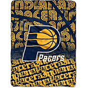 Northwest Indiana Pacers Redux Micro Raschel Throw Blanket