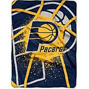 Northwest Indiana Pacers Shadow Play Raschel Throw Blanket