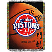 Northwest Detroit Pistons Photo Real Throw Blanket