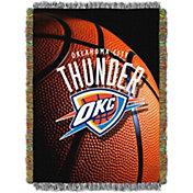 Northwest Oklahoma City Thunder Photo Real Throw Blanket