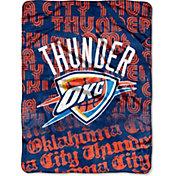 Northwest Oklahoma City Thunder Redux Micro Raschel Throw Blanket