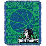 Northwest Minnesota Timberwolves Double Play Blanket
