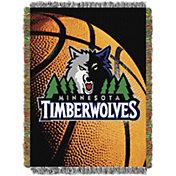 Northwest Minnesota Timberwolves Photo Real Throw Blanket