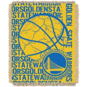 Northwest Golden State Warriors Double Play Blanket