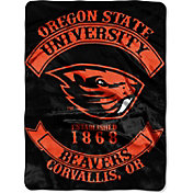 Northwest Oregon State Beavers Raschel Throw