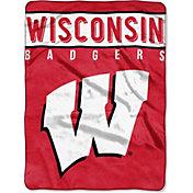 """Northwest Wisconsin Badgers 60"""" x 80"""" Blanket"""