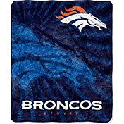 Northwest Denver Broncos Strobe Sherpa Throw