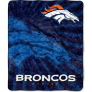Northwest Denver Broncos Strobe Sherpa Throw