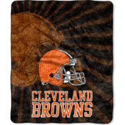 Northwest Cleveland Browns Strobe Sherpa Throw
