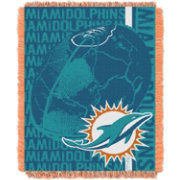 Northwest Miami Dolphins Double Play Blanket