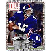 Northwest New York Giants Eli Manning Player Blanket