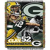 Northwest Green Bay Packers Clay Matthews Player Blanket