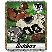 Northwest Oakland Raiders Vintage Blanket
