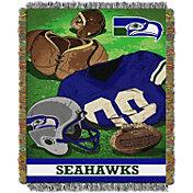 Northwest Seattle Seahawks Vintage Blanket