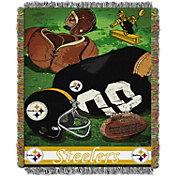 Northwest Pittsburgh Steelers Vintage Blanket
