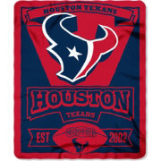 Northwest Houston Texans Marquee Fleece Throw