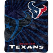 Northwest Houston Texans Strobe Sherpa Blanket