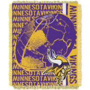 Northwest Minnesota Vikings Double Play Blanket