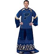 Northwest St. Louis Blues Player Uniform Comfy Sleeved Throw