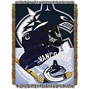 Northwest Vancouver Canucks 48 in x 60 in Home Ice Advantage Tapestry Throw Blanket