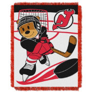 Northwest New Jersey Devils Score Baby 36 in x 46 in Jacquard Woven Throw Blanket