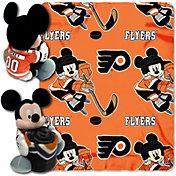 Northwest Philadelphia Flyers Disney Mickey Mouse Hugger and Fleece Throw Set