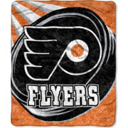 Northwest Philadelphia Flyers Puck Sherpa Throw