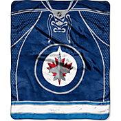 Northwest Winnipeg Jets Raschel Throw Blanket