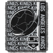Northwest Los Angeles Kings Double Play 48 in x 60 in Jacquard Woven Throw Blanket