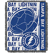 Northwest Tampa Bay Lightning Double Play 48 in x 60 in Jacquard Woven Throw Blanket