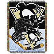 Northwest Pittsburgh Penguins 48 in x 60 in Home Ice Advantage Tapestry Throw Blanket