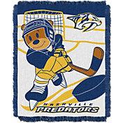 Northwest Nashville Predators Score Baby 36 in x 46 in Jacquard Woven Throw Blanket