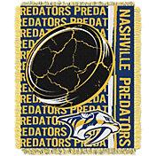 Northwest Nashville Predators Double Play 48 in x 60 in Jacquard Woven Throw Blanket