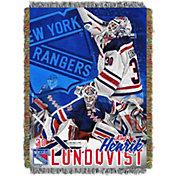 Northwest New York Rangers Henrik Lundqvist #30  Tapestry Throw 48 in x 60 in Blanket