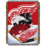 Northwest Detroit Red Wings 48 in x 60 in Home Ice Advantage Tapestry Throw Blanket