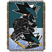Northwest San Jose Sharks 48 in x 60 in Home Ice Advantage Tapestry Throw Blanket