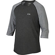 Oakley Men's Drop In 3/4 Sleeve Raglan Shirt