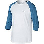 Oakley Men's Drop In 3/4 Sleeve Raglan Shirt