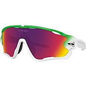 Oakley Jawbreaker Green Fade Prizm Road Sunglasses