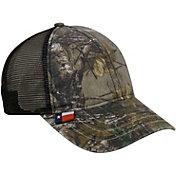 Realtree Men's Texas Flag Camo Mesh Back Hat
