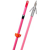 OMP Fin-Finder Raiderette Pro Bowfishing Arrow with Riptide Pro Point – Pink