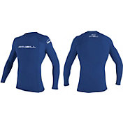 O'Neill Men's Basic Skins Crew Long Sleeve Rash Guard